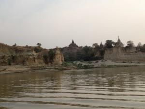 Vi nærmer oss Bagan...