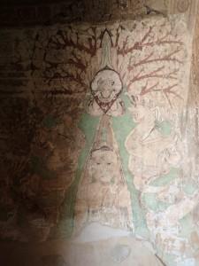 Veggmaleri fra Sulamani Pahto