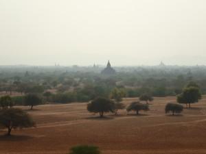 Utsikt fra Pyathada Paya