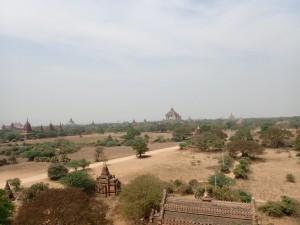 Utsikt fra Shwesandaw Paya
