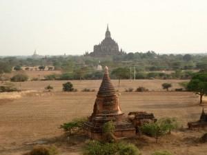 Tempelsletten i Bagan