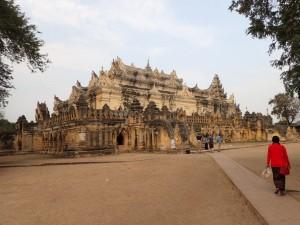 Inwa Temple (Me Nu Ok Kyaung) fra 1822