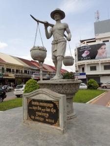 Fra Battambang, Kambodsja