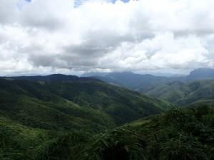 Grønne daler nord i Laos, på vei til Phonsavan