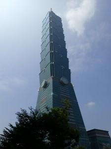 6. Taipei med Taipei 101 på 508 meter